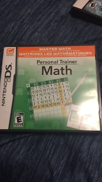 Nintendo DS personal trainer in math Warman, S0K 4S1