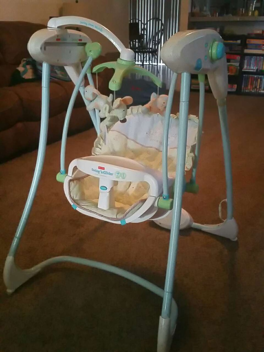 Letgo Fisher Price Swing N Glider In Valrico Fl