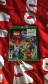 Lego The Lego Movie Xbox One game case