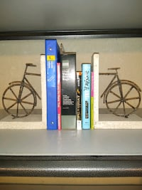 Decorative Artist Crafted Book Ends
