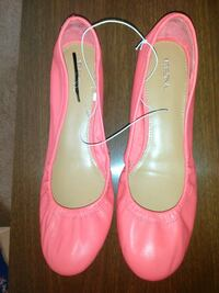 Leather shoes pink  Easton, 18040