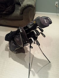 stainless steel golf club set