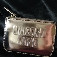 Rose gold unicorn fund coin purse San Diego, 92154