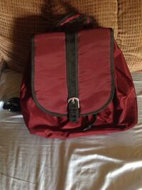 red and black backpack Woodhaven, 48183