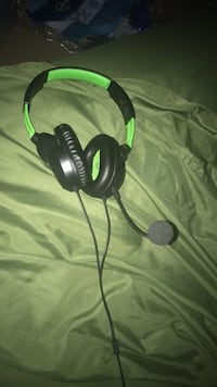 black and green corded headphones Fayetteville, 17222