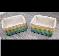 Cute lil baskets x2 $5 for both  Surrey, V3S 0E5