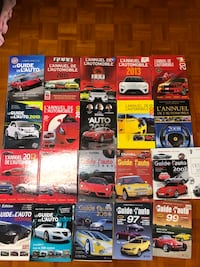 Collection de guide de l'auto