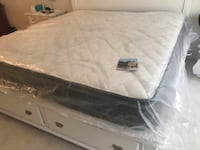 Brand new king size mattress (WENTWORTH) firm mattress 12 inches) Centreville, 20121