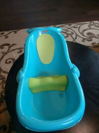 baby's blue plastic bather Boyds, 20841