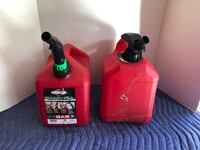 Set of 2 Gas Cans 2 Gallon Each Price is For Both Manassas, 20112