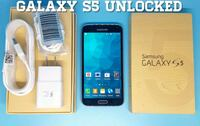 Galaxy S5 GSM-UNLOCKED (Like-New)  Arlington