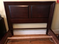 Solid wood queen sized bed frame.  Toronto, M6G