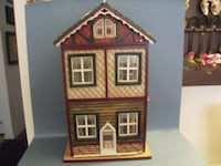 brown and white house miniature 258 mi