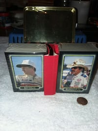Nascar trading cards still in the plastic with tin Muncie, 47303