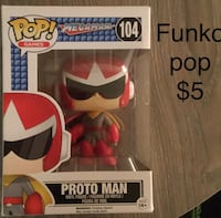 Funko pop mega man : protoman Fairfax, 22033