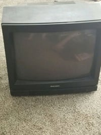 black CRT TV with remote Pasco, 99301