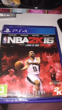 Game case NBA 2K16 PS4 Paris, 75018