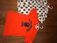 Bape t shirts size s  authentic!