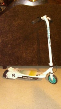 white and black electric  scooter Laredo, 78043