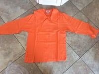 BEAUTIFUL ORANGE TOP SIZE SMALL IN VERY GOOD CONDITION  Montréal, H9K 1S7