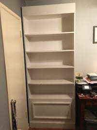 white wooden 5-layer shelf West Hollywood, 90046