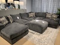 Kaylee Grey Sectional Sofa ****FREE DELIVERY ***FINANCING AVAILABLE  Las Vegas, 89179