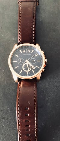 Armani rose gold watch  Calgary, T2A
