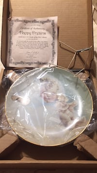 Collective decorative plate with authenticity certificate new in box Toronto, M8V 3A7