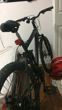 black and red hardtail mountain bike Winnipeg, R2G 0C8