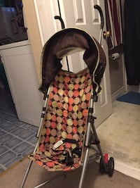 baby's black and red stroller Barrie, L4M 1L1
