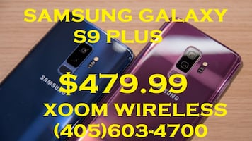 Samsung Galaxy s9 Plus (unlocked) is on sale now. We have the largest selection of smart phones, tablets, accessories and much more. We also do repair service for all your smart devices in an affordable price. All our devices come from major carriers so i