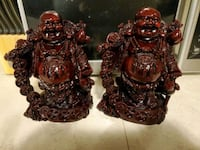 heavy set of 2 laughing buddha  Beaumont, T4X 0A1