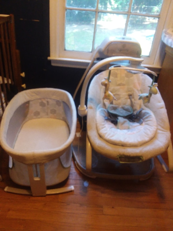 Baby Swing Bouncer And Bassinet Combo