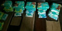 3 packs of Pampers 2 packs of wipes  Yorkville, 60560