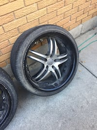 20 Inch Deep Dish Rims With Low Profile Tires - $950 or best offer Hamilton