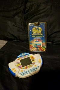 Wheel of Fortune handheld game