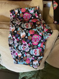 Candy skull leggings XL  Norfolk, 23503