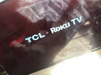 50inch flatscreen TCL Roku  with remote  Washington, 20020