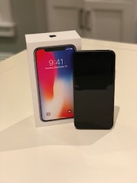 Unlocked iPhone X 256GB Space Gray with Apple Care Hamilton, L0R 2H0
