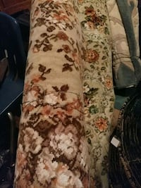 vintage wool peach, green floral...one in back photo Ellwood City, 16117