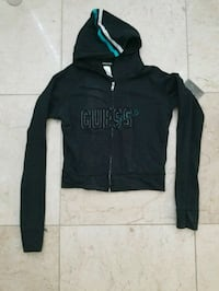 Guess jeans ladies black hoody sweater in M Rancho Cucamonga, 91730