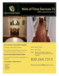 House and Office Cleaning Boerne