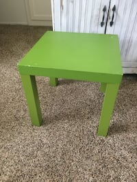 green wooden table with drawer Santa Monica, 90404