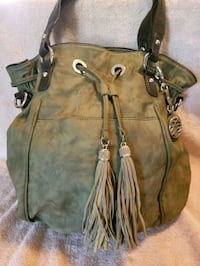 Style & Co leather bucket bag/purse