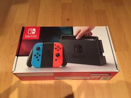 Nintendo Switch - Brand new never opened.