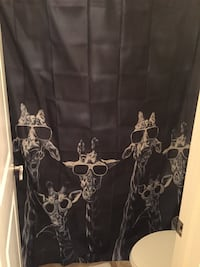 Shower Curtain, Giraffe Print Mount Pleasant, 29464