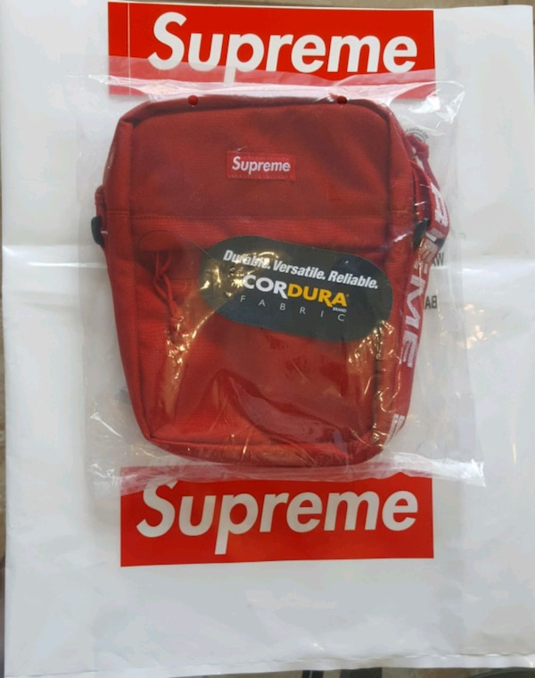 Used Supreme Shoulder Bag (SS19) Red for sale in Ruskin - letgo a846cdf9ce32a