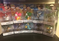 Assorted Amiibos $25 each Mississauga, L5A 1W4