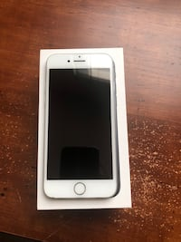 Silver iphone 6 with box Washington