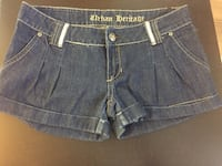 Women's blue denim short shorts Welland